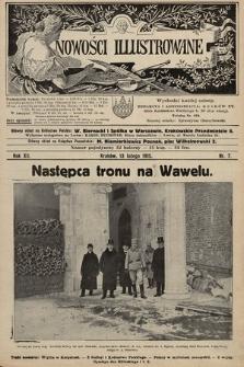 Nowości Illustrowane. 1915, nr7
