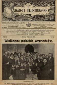 Nowości Illustrowane. 1915, nr16
