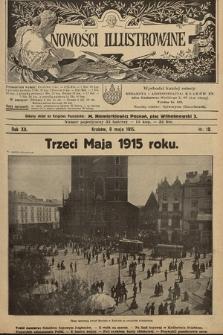 Nowości Illustrowane. 1915, nr19