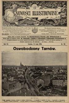 Nowości Illustrowane. 1915, nr20