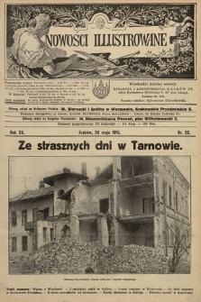 Nowości Illustrowane. 1915, nr22