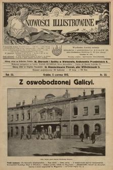 Nowości Illustrowane. 1915, nr23