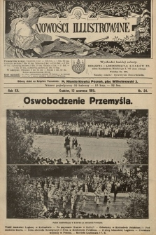 Nowości Illustrowane. 1915, nr24