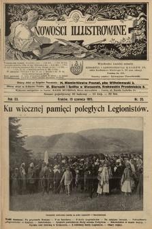 Nowości Illustrowane. 1915, nr25