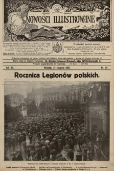 Nowości Illustrowane. 1915, nr34