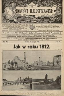 Nowości Illustrowane. 1915, nr35