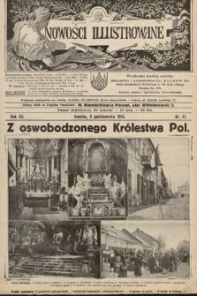 Nowości Illustrowane. 1915, nr41