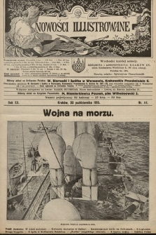 Nowości Illustrowane. 1915, nr44