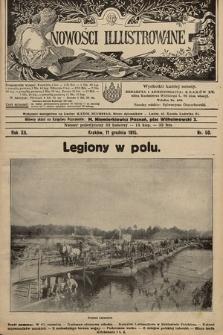 Nowości Illustrowane. 1915, nr50