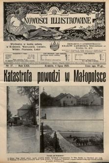 Nowości Illustrowane. 1925, nr27