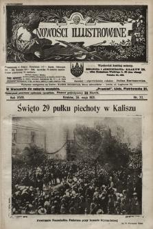 Nowości Illustrowane. 1921, nr22