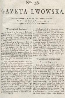 Gazeta Lwowska. 1812, nr46