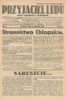 Przyjaciel Ludu : organ Stronnictwa Chłopskiego. 1926, nr5