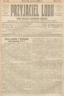 Przyjaciel Ludu : organ Polskiego Stronnictwa Ludowego. 1908, nr13