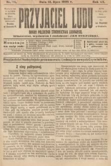 Przyjaciel Ludu : organ Polskiego Stronnictwa Ludowego. 1908, nr28