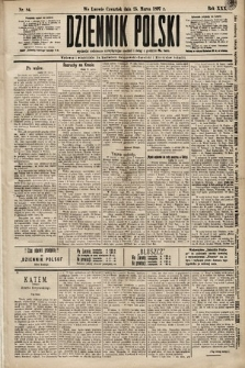 Dziennik Polski. 1897, nr84