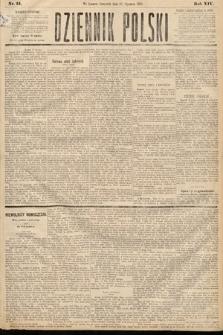 Dziennik Polski. 1881, nr15