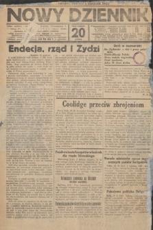 Nowy Dziennik. 1927, nr1