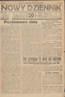 Nowy Dziennik. 1927, nr12