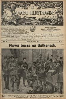 Nowości Illustrowane. 1913, nr5