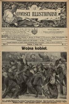 Nowości Illustrowane. 1913, nr6