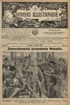 Nowości Illustrowane. 1913, nr9