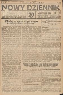 Nowy Dziennik. 1927, nr21