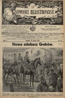 Nowości Illustrowane. 1913, nr11