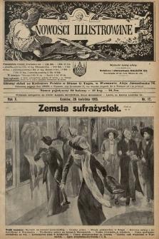 Nowości Illustrowane. 1913, nr17