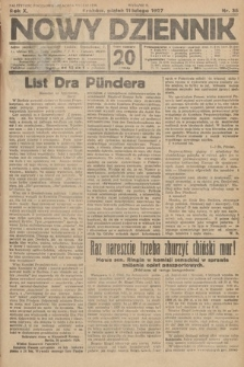 Nowy Dziennik. 1927, nr35