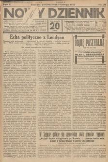 Nowy Dziennik. 1927, nr38