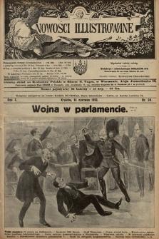 Nowości Illustrowane. 1913, nr24