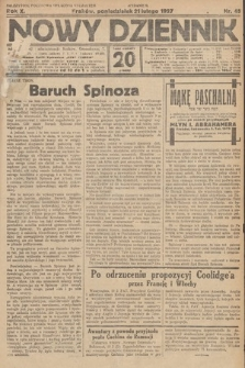 Nowy Dziennik. 1927, nr45