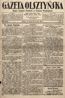 Gazeta Olsztyńska : organ Związku Polaków wPrusach Wschodnich. 1922, nr23