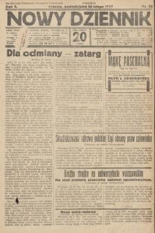Nowy Dziennik. 1927, nr52