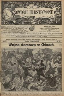 Nowości Illustrowane. 1913, nr31