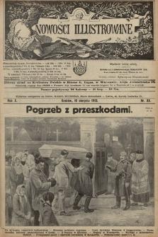Nowości Illustrowane. 1913, nr33