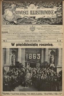Nowości Illustrowane. 1913, nr38