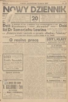 Nowy Dziennik. 1927, nr66