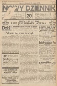 Nowy Dziennik. 1927, nr72