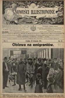 Nowości Illustrowane. 1913, nr47