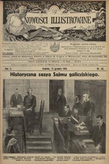 Nowości Illustrowane. 1913, nr50