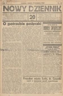 Nowy Dziennik. 1927, nr99