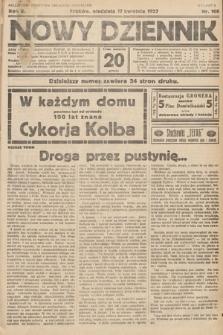 Nowy Dziennik. 1927, nr100