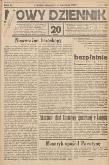 Nowy Dziennik. 1927, nr102
