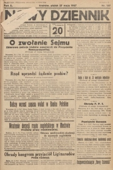 Nowy Dziennik. 1927, nr137