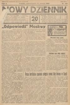 Nowy Dziennik. 1927, nr152