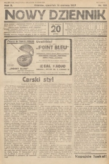Nowy Dziennik. 1927, nr155