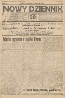 Nowy Dziennik. 1927, nr160