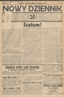Nowy Dziennik. 1927, nr166